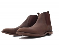 Mexican Casual Boots short brown