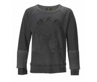 Rude Riders  UNION MADE CUSTOM SWEATSHIRT - outrider black